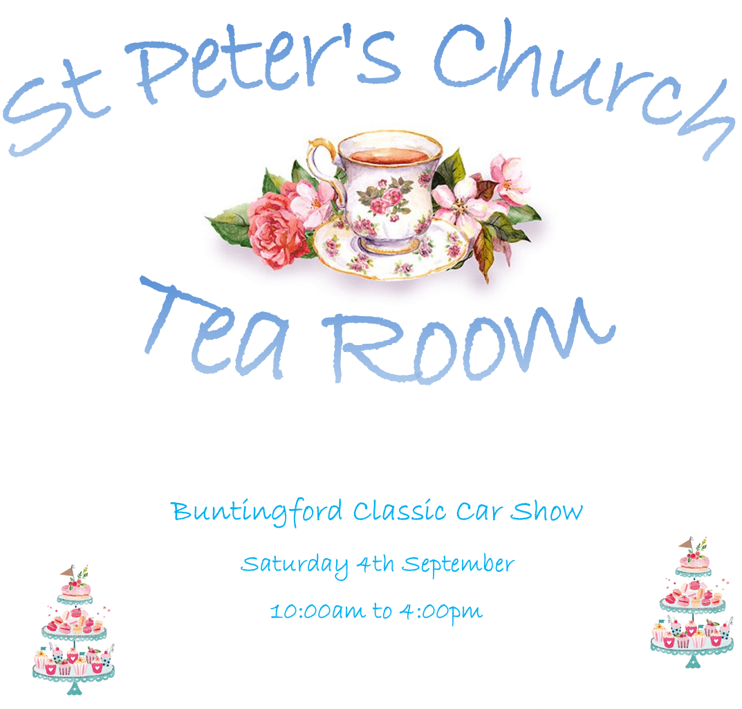 St Peter's Tea Room for Classic Car Show