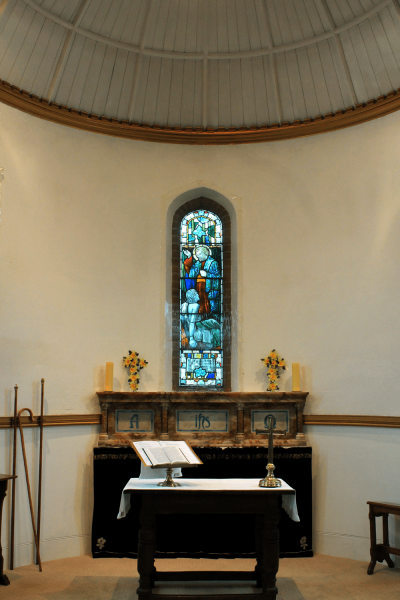 The apse of St. Peter's Church, Buntingford